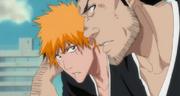 Isshin meyakinkan Ichigo