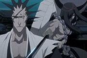 Wabisuke y Kenpachi