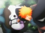 Ichigo mengembalikan bom Shrieker
