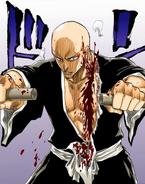 88Ikkaku is wounded