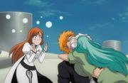 Nelliel memeluk Ichigo