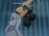 Rukia ataca a Kaien
