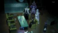 Byakuya va à la 12e division avec Rukia