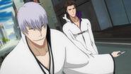 Gin blocking Aizen's power