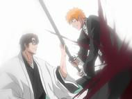 O61 Aizen pokonuje Ichigo