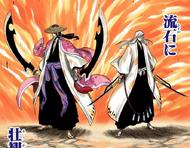 156Shunsui and Ukitake prepare