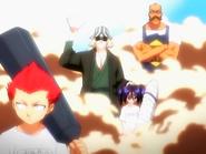O14 Urahara, Tessai, Ururu i Jinta przybywają z pomocą