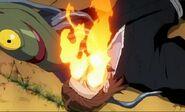 Kibune muriendo por su bakkoto