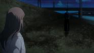 Reigai-Renji Abarai arrives on the scene