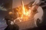 261Ichigo and Mouthless Toju clash