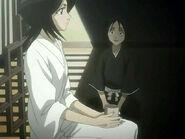 Hanatarou conoce a Rukia