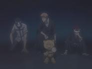 O66 Kon wybudza Ichigo, Uryu i Renjiego z iluzji