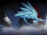 Hitsugaya es derrotado por Aizen