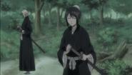 Tobiume returns to Momo after defeating Muramasa