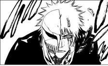 La mascara de Ichigo se rompe
