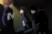 Shu and Rukia rescue Rurichiyo's servants