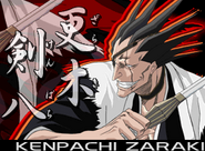 Kenpachi BleachDS