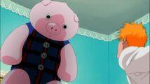 Mr Pork. vs ichigo