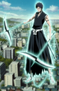 O219 Hisagi uwalnia swoje Shikai - Kazeshini