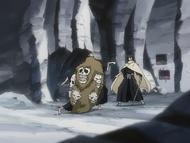 O148 Ashido zatrzymuje miecz przed twarzą Rukii