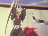 Ichigo Attacks Renji (ep31)