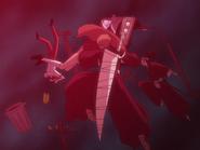 O68 Uryu, Ichigo, Orihime i Renji wciągani do portalu