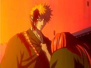 Fin de la lucha Ichigo vs Renji