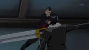 Moe ataca a Ginjo