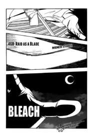 Bleach Chapter 468 Cover