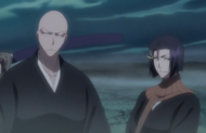 230Ikkaku and Yumichika stand in