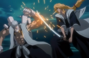 Rose menyerang Kense
