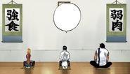 82Sado, Uryu, and Orihime eat