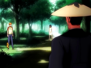 O8 Ichigo i Kon przerywają rozmowę Eikichiro i Rukii