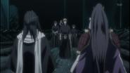 Ichigo approaches Byakuya and Senbonzakura