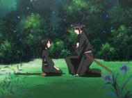 O49 Miyako opiekuje się Rukią