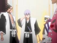 O24 Ichimaru świadkiem kłótki Mayuriego z Zarakim