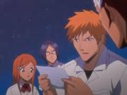 Ichigo lee la nota