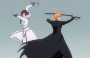 Muramasa appears behind Ichigo
