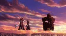Syuren raptando a las hermanas de Ichigo