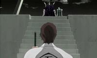 612px-Aizen shows Baraggan his Zanpakutō