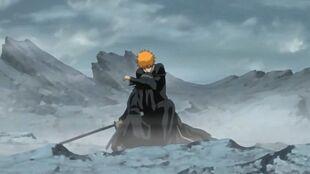 Fade to Black Ichigo abraza a Rukia