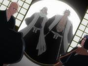 Byakuya dan Kenpachi