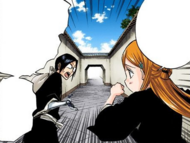 120Orihime and Uryu discuss