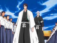 Kapitan Aizen i porucznik Ichimaru