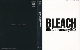 Bleach 5th Anniversary Box Cover