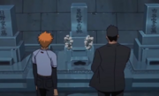 Isshin habla con Ichigo