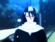 O16 Byakuya bez swojego haori