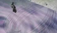 Koga Kuchiki Spirit Threads Immobilise Byakuya