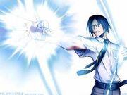 Uryu lors du défi contre Ichigo