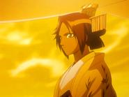 O57 Yoruichi jako głowa rodu Shihoin